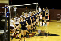 JV Volleyball Action 2014