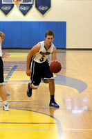 Boys JV Basketball Action 2014